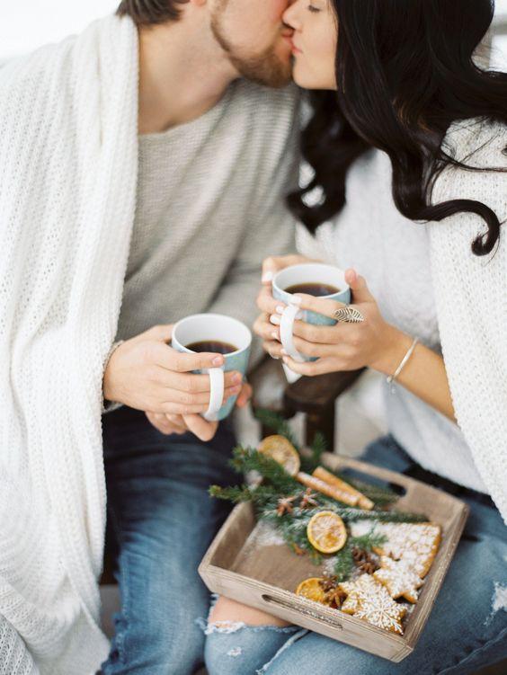 Романтический кофе